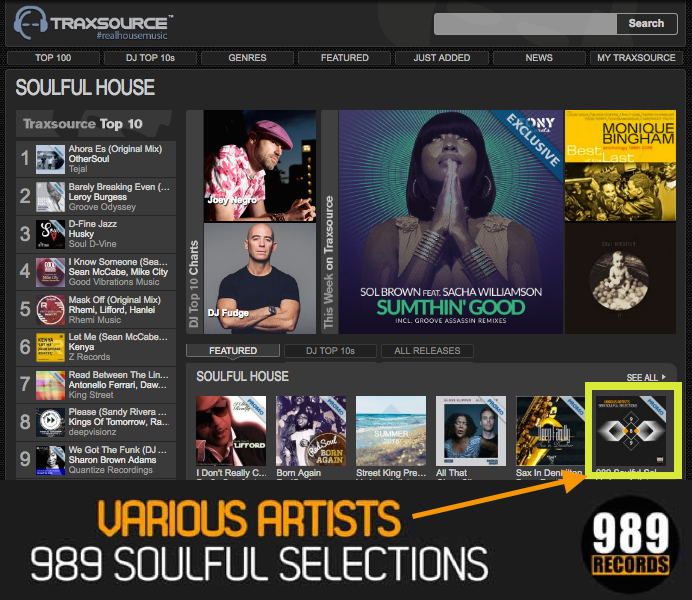 989 Soulful Selections