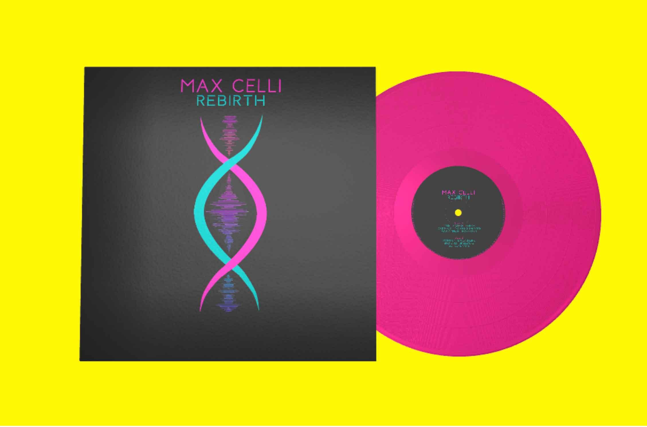 """Rebirth – 12"""" Neon Pink Vinyl"""
